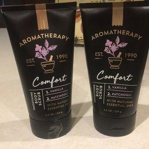 New bath and body works aromatherapy body scrub
